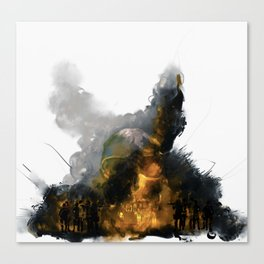 This is MAD-ness (Mutually Assured Destruction) Ferguson Canvas Print