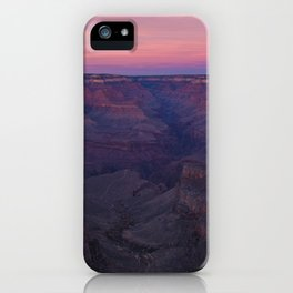 Grand Canyon Red Sunrise iPhone Case