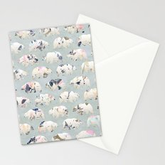 Psychedelic Bears Stationery Cards
