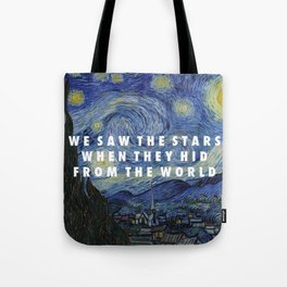 Starry Step Tote Bag
