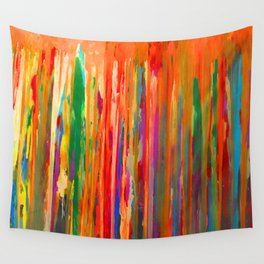Neon Down Wall Tapestry