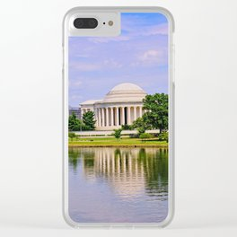 Jefferson Memorial Clear iPhone Case