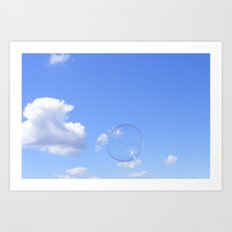 Fragile Spheres Art Print