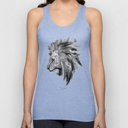 Lion - The king of the jungle Unisex Tank Top