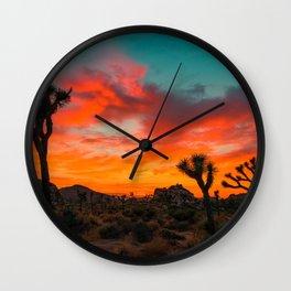 Joshua Tree Parc National Wall Clock