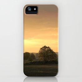Sunrise in August iPhone Case