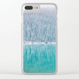 Arctic Blue Clear iPhone Case