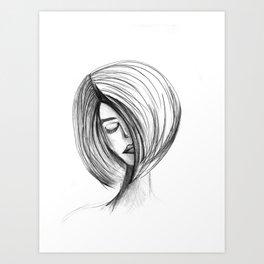 Girlie 01 Art Print