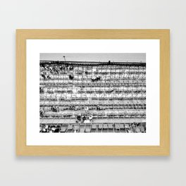 Churchill Downs B&W Framed Art Print