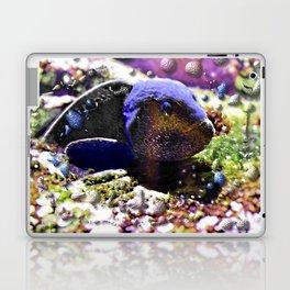 Wild Fishy Story By A Blue Fish Laptop & iPad Skin