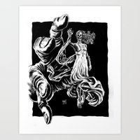 Melissa?  Is That You There? Art Print