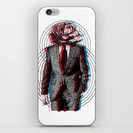 l'homme à la tête de chou iPhone Skin