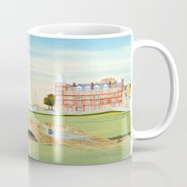 St Andrews Golf Course 18th Hole Coffee Mug