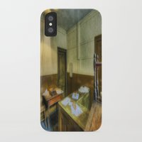 the office iPhone & iPod Cases featuring Antique Office by Ian Mitchell