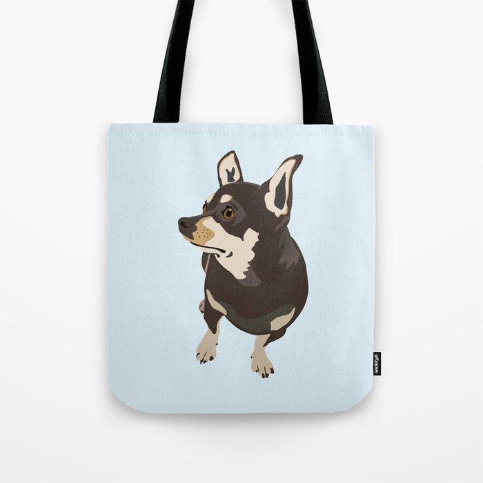 Hopeful Dog Tote Bag