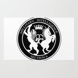 MI6 Logo (Millitary Intelligence Section 6) Rug