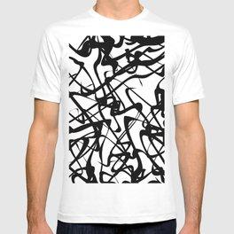 smooth black loops T-shirt