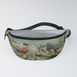 Pieter Bruegel the Elder - Landscape with the Fall of Icarus Fanny Pack