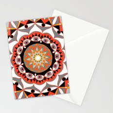 My Solar Plexus Mandhala | Secret Geometry | Energy Symbols Stationery Cards