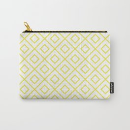 Yellow Diamond Pattern 2 Carry-All Pouch