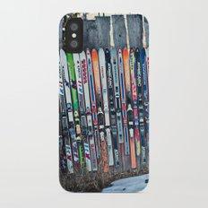Skis iPhone X Slim Case