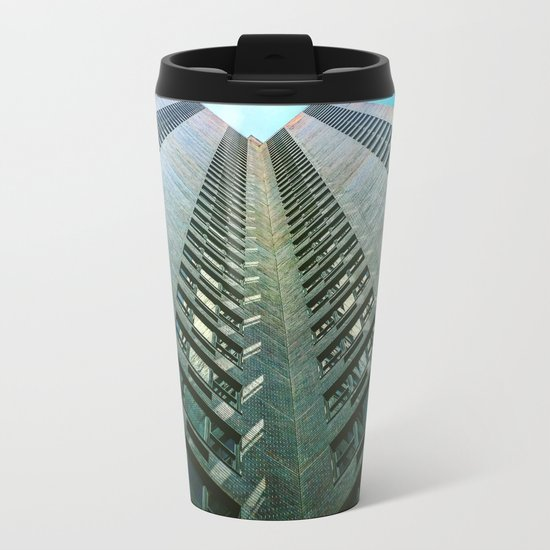 Tunnel Vision Metal Travel Mug