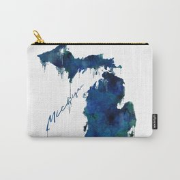 Michigan - wet paint Carry-All Pouch