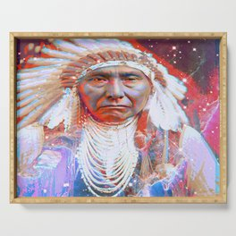 Crazy Horse Serving Tray