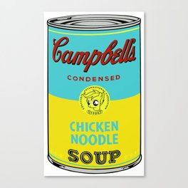 Campbell's scootaloo noodle soup re-color Canvas Print