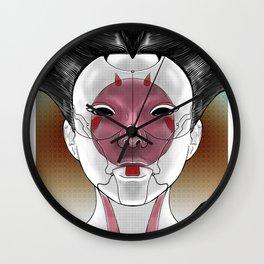 Robot Geisha V1 Wall Clock