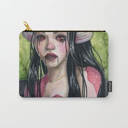 Lady In Mourning Carry-All Pouch
