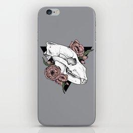 A Flowery Death iPhone Skin