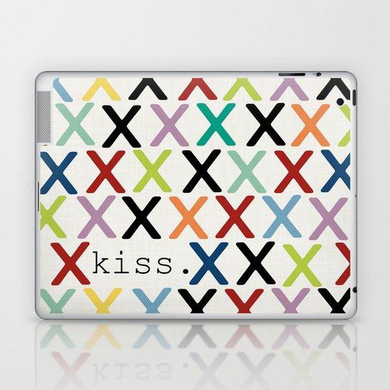 kiss. Laptop & iPad Skin