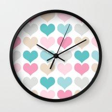 sweet hearts Wall Clock