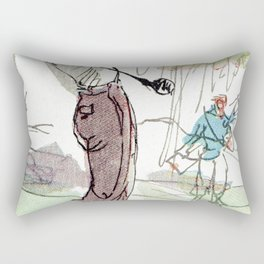 Are You Looking At My Putt? Rectangular Pillow
