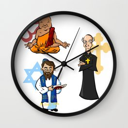 Religious Icons Wall Clock
