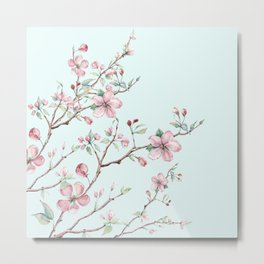 Apple Blossom #society6 #buyart Metal Print