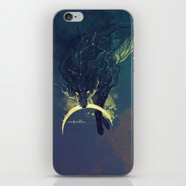 The Fox who talked the Moon and the Stars iPhone Skin