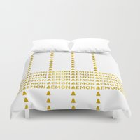 lemon Duvet Covers featuring Lemon by ARTbyJWP