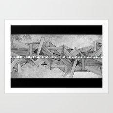 Bonhoeffer Art Print
