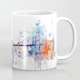Colorful Toledo watercolor design Coffee Mug