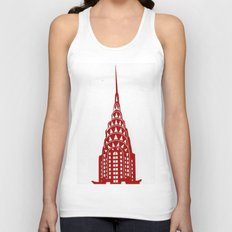 Chrysler Building Unisex Tank Top