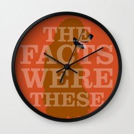 Pushing Daisies - Digby Wall Clock