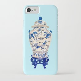 Tsochtkes and Ginger Jar iPhone Case