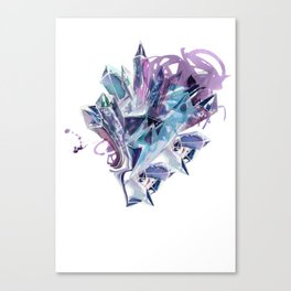 Liquid Crystal Canvas Print