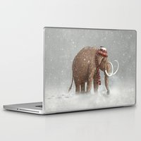 winter Laptop & iPad Skins featuring The Ice Age Sucked by Terry Fan