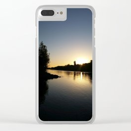 Tears into still Waters Clear iPhone Case