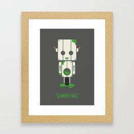 Slime Bot Framed Art Print