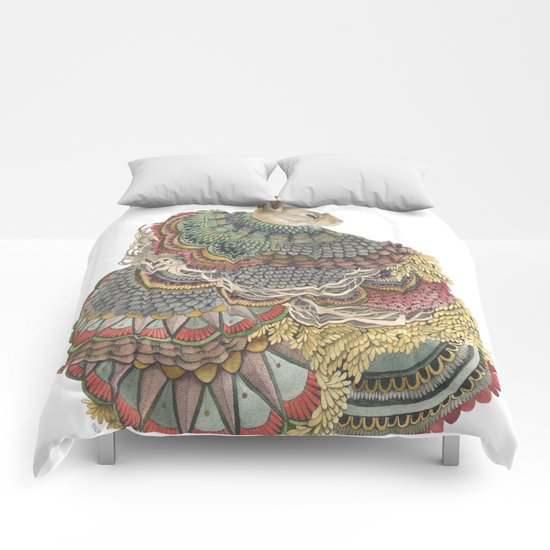 Quilted Forest: The Rabbit Comforters