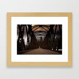 The Old Railway Bridge - Slovenia Framed Art Print